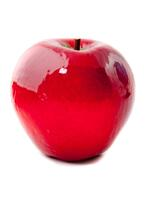 Red apple - isolated over a white background